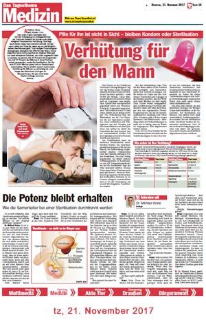 Vasektomie schmerzen nach jahren